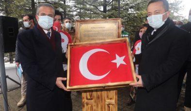 Başkan Yıldızkaya, İstiklal Bayrağı'nı Bozüyük'e Emanet Etti