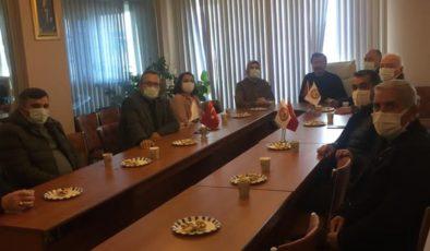 Başkan Demir'den Müteahhitler Derneğine Ziyaret