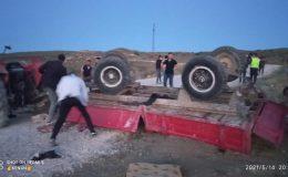 Haymanada'da feci kaza: Ölü ve çok sayıda yaralı var