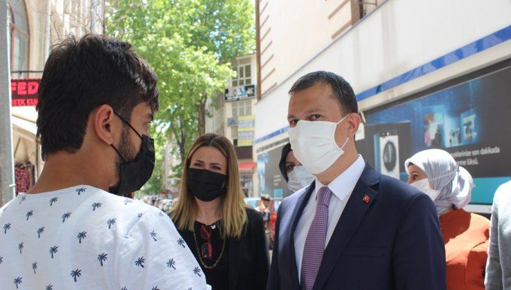 FATİH ŞAHİN'DEN POLATLI ZİYARETİ
