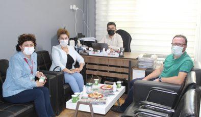 BAŞHEKİM ÖZTÜRK'TEN GAZETEMİZE ZİYARET