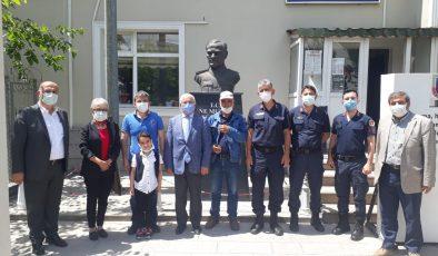 POLATLI CHP'DEN JANDARMAYA 182'NCİ YIL ZİYARETİ