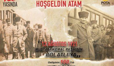 POLATLI'YA HOŞGELDİN ATAM