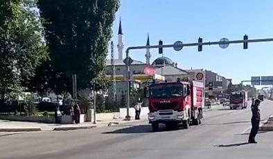 AZERBAYCAN KONVOYU POLATLI'DAN GEÇTİ