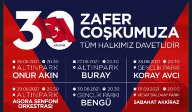 BÜYÜKŞEHİR'DEN KIRMIZI-BEYAZ ÇAĞRI: 30 AĞUSTOS'TA ZAFER COŞKUSU