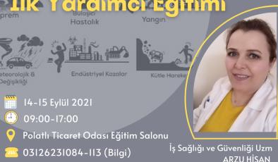 """PTO'DA İLK KEZ """"İLK YARDIM"""" EĞİTİMİ"""