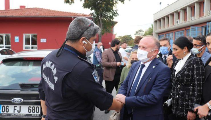 Başkan Öztürk'ten İtfaiyeciler haftasında anlamlı ziyaret